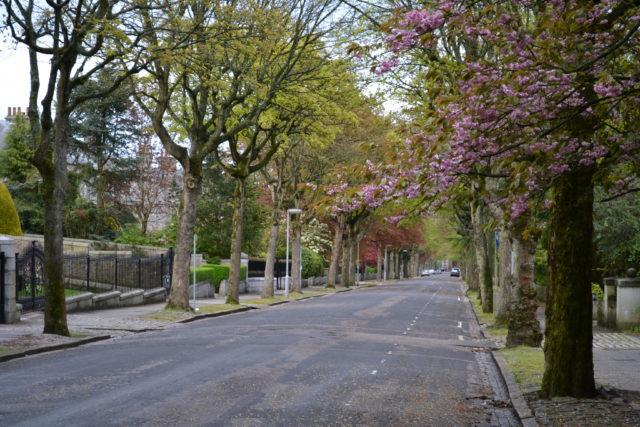 Gatelangs i Aberdeen