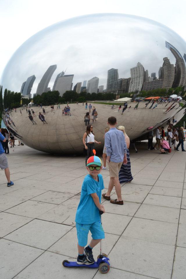 Reisetips, USA, barn, Chicago, familiefeire