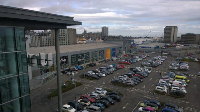 Shopping i Aberdeen
