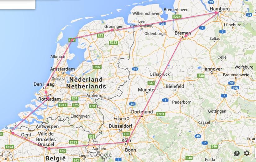 Belgia og Nederland