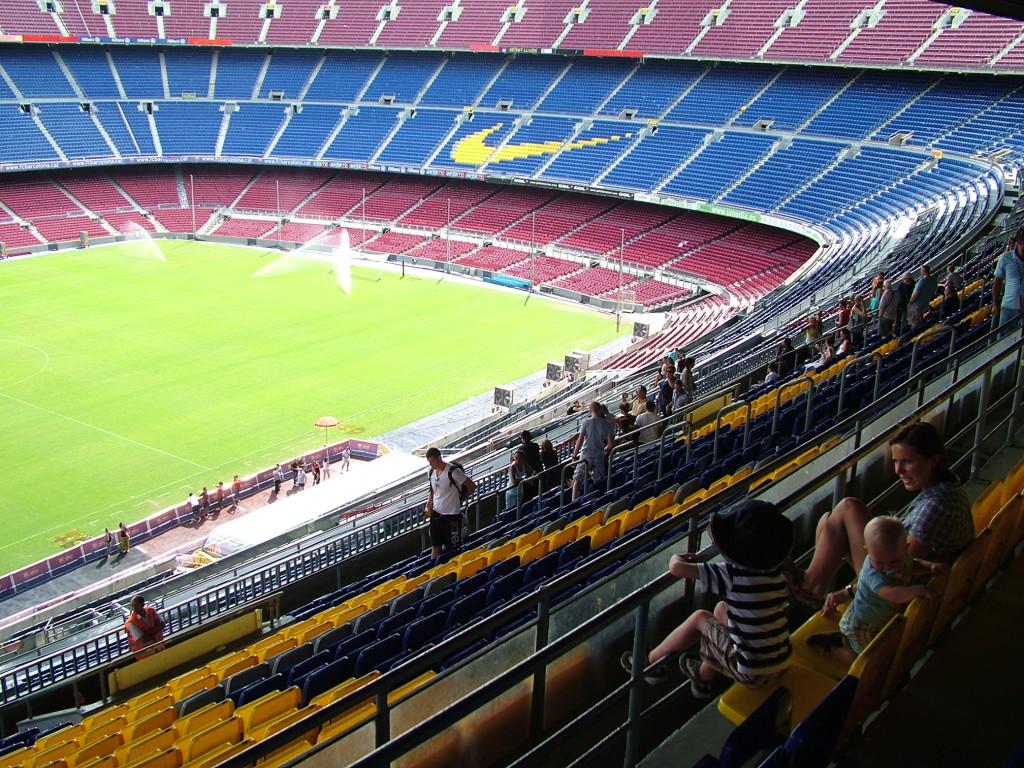 Camp Nou Barcelona fotballstadion