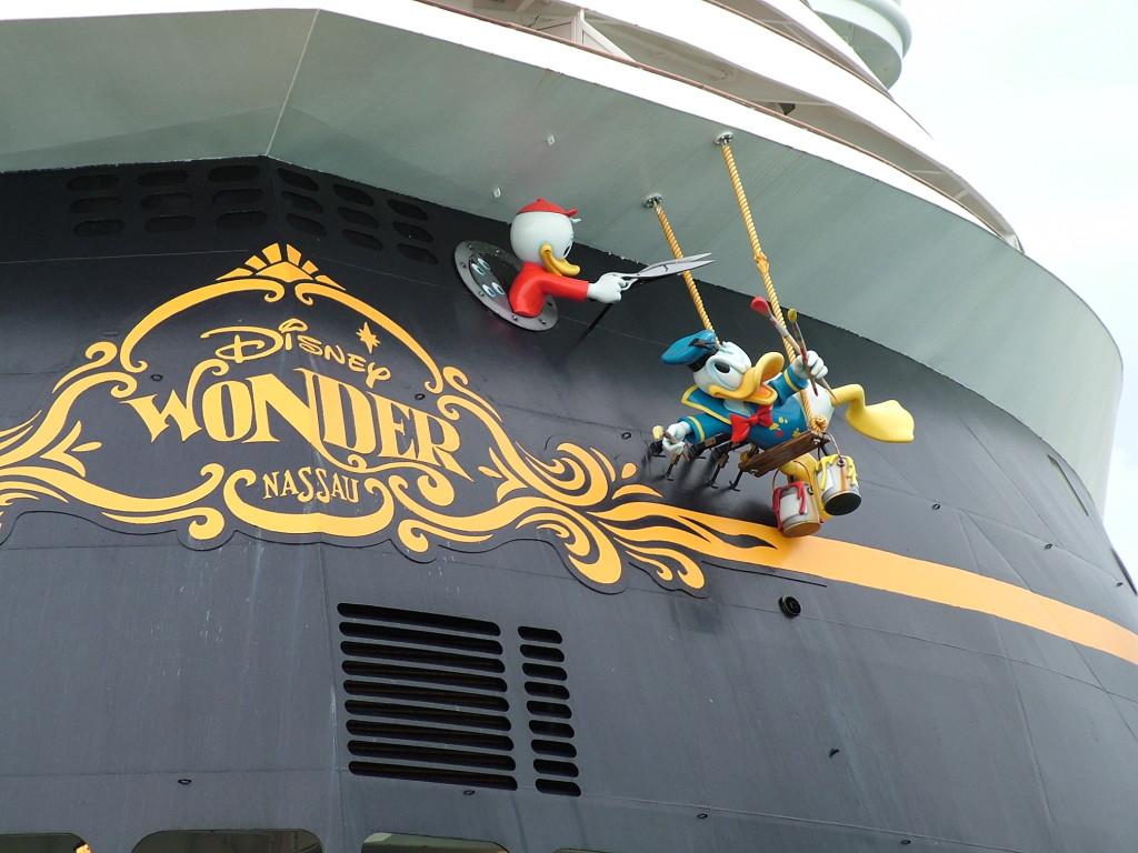 Reisetips for alle som skal reise med familie eller barn til USA eller utlandet på ferie - Disney cruise Wonder