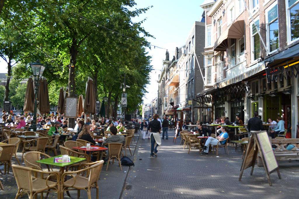 Den Haag - mange trivelige spisesteder Nederland Holland