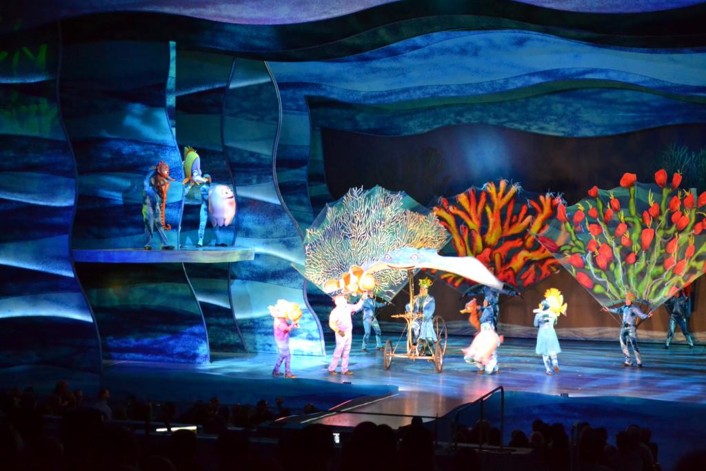 Reisetips: Nemo Show i Disney, Orlando, Florida, USA er bra for unger. Alltid noe å gjøre