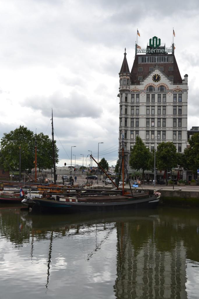 Old Harbor Rotterdam Nederland Holland