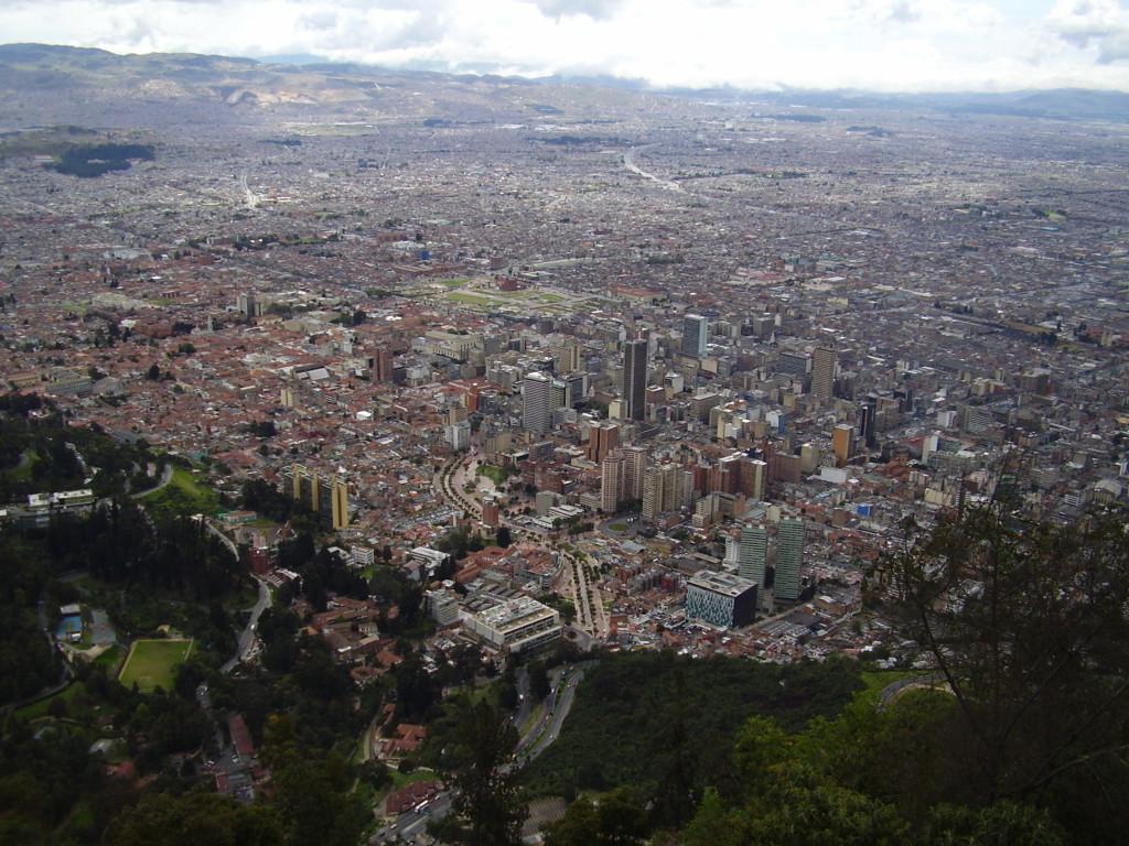 Cerro de Monserrate Reisetips BogotaCartagena Columbia