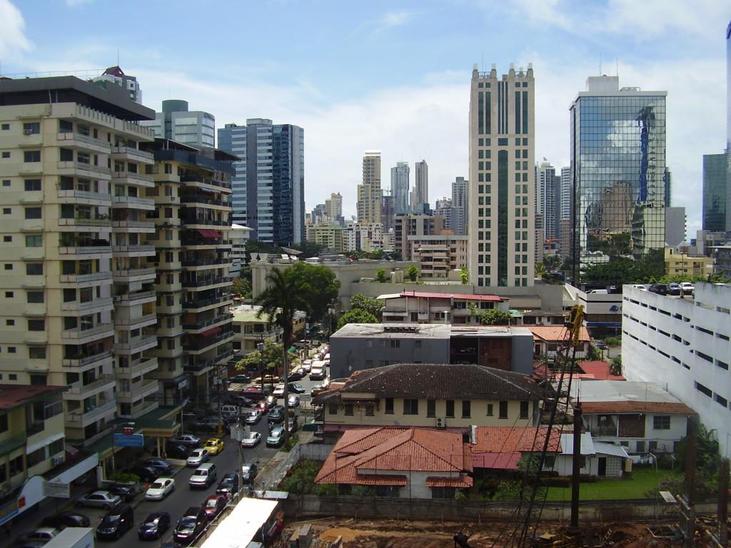 Panama City Panamakanalen