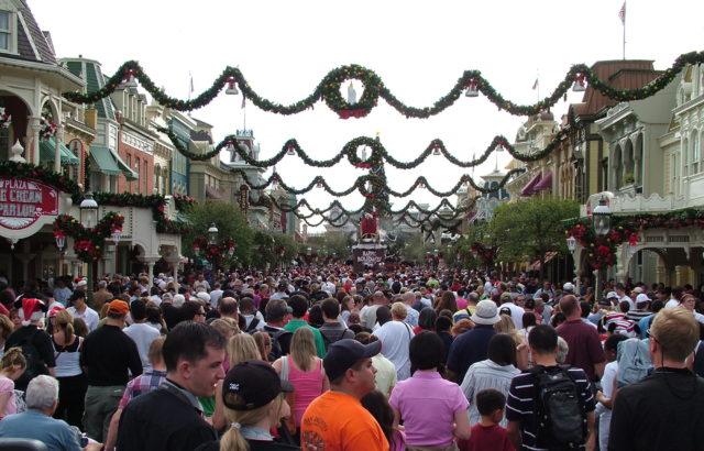 Reisetips for barn og unge i Florida, USA: Disney Magic Kingdom i julen