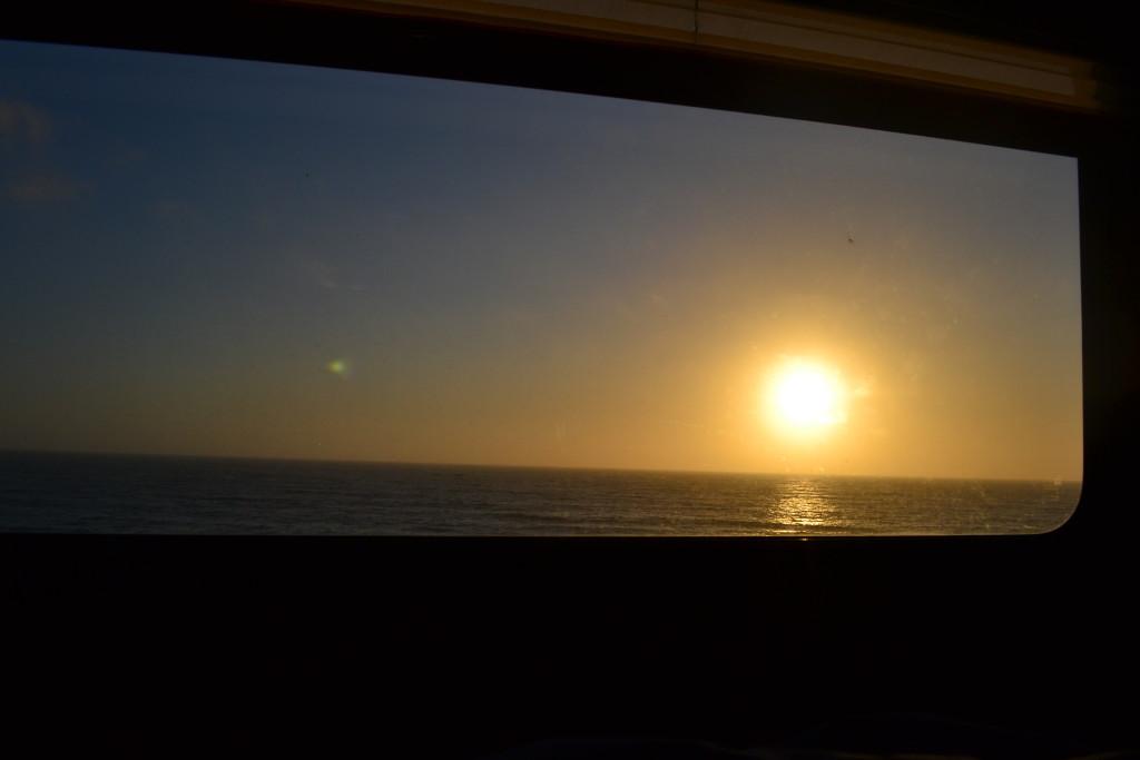 Reisetips for familier, barn og voksne - Utsikten fra bobilen i San Francisco RV Camping