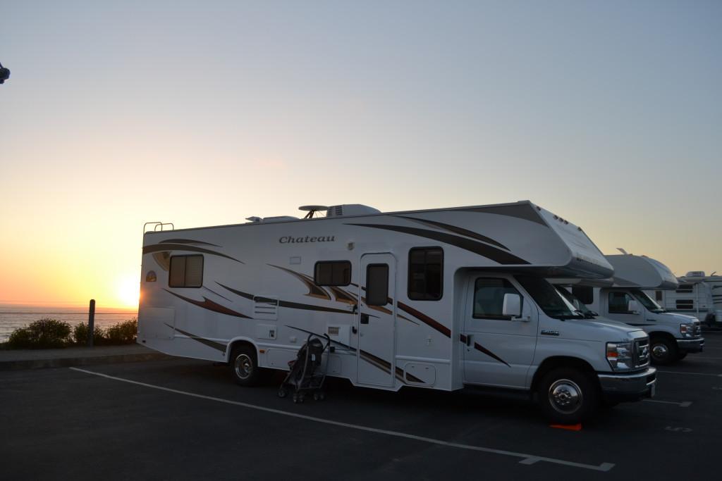 Reisetips for familier, barn og voksne - San Francisco, USA. Camping med bobil