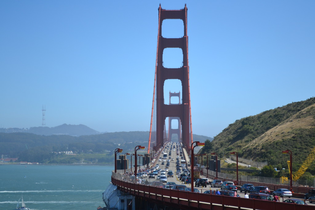 Reisetips for familier, barn og voksne - Golden Gate Bridge San Francisco USA