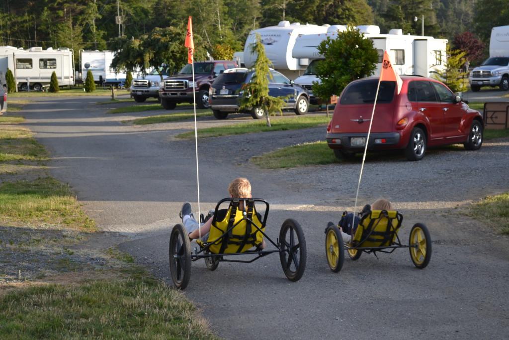 Reisetips for familier, barn og voksne - Koa camping USA hadde mange aktiviteter for barna
