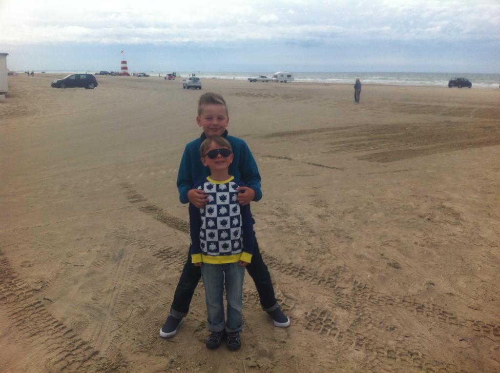Reisetips for familie og barn - Løkken strand nær Jambo camping