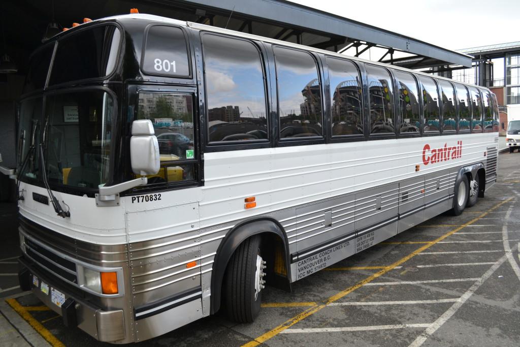 Enkelt å ta buss mellom Seattle og Vancouver Reisetips Canada