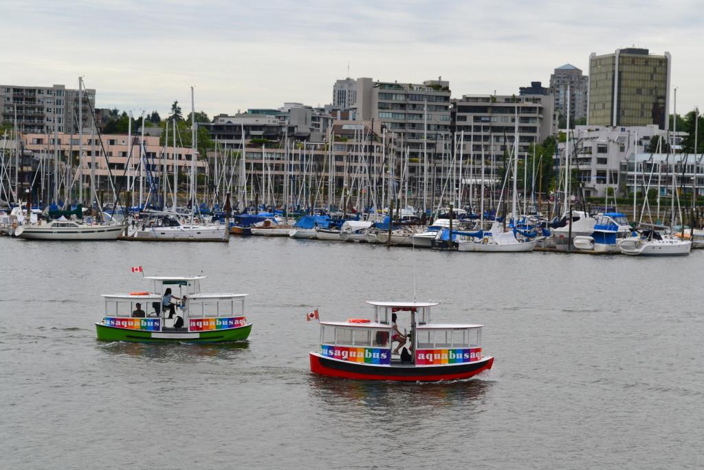 Aquabus - båt taxi Canada reisetips Vancouver