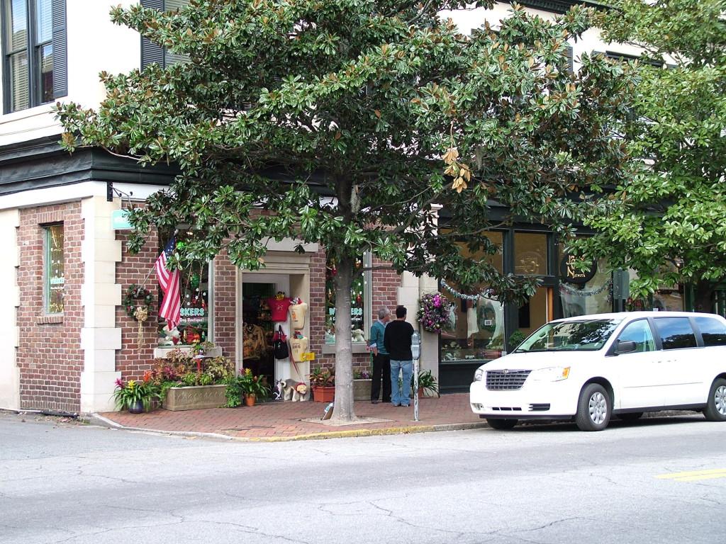 Reisetips for familier, barn og voksne - Savannah sted med virkelig atmosfære