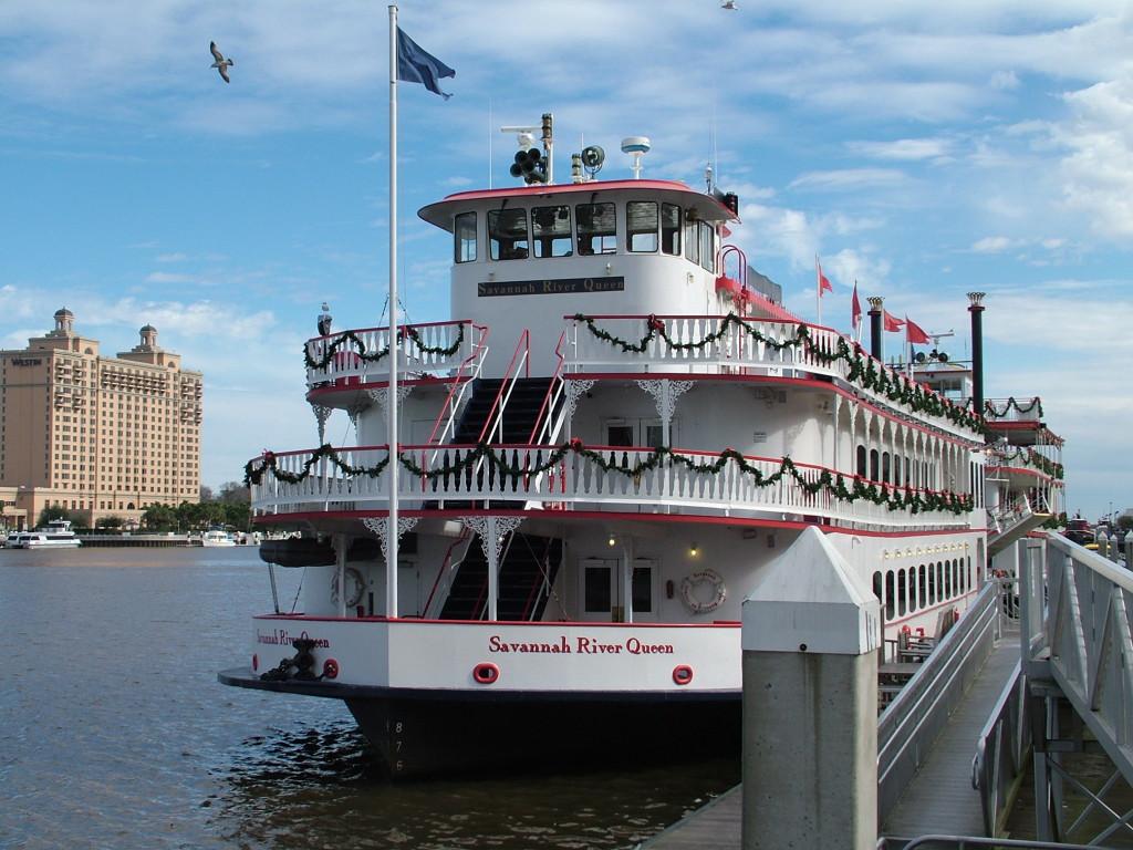 Reisetips for familier, barn og voksne - Hjulbåt i Savannah