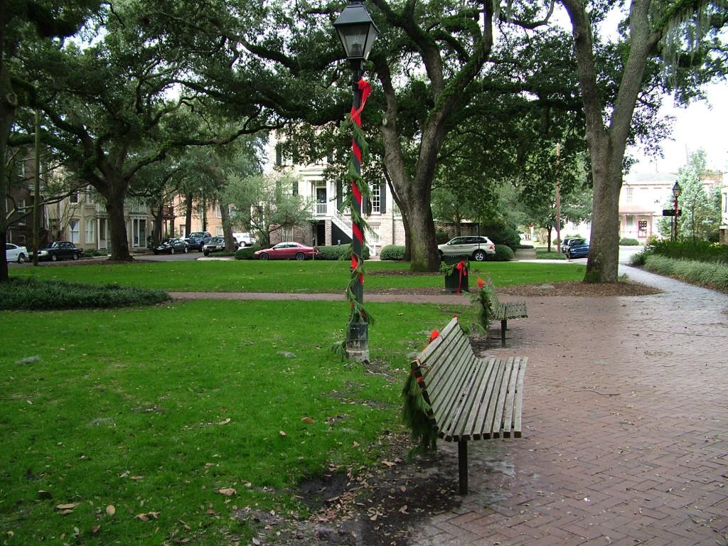 Reisetips for familier, barn og voksne - Park i Savannah