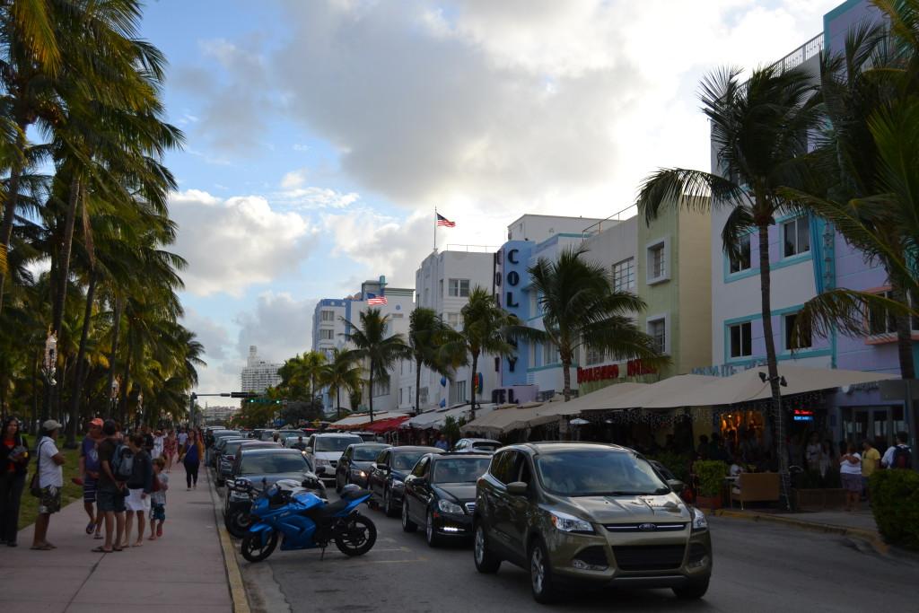 Reisetips for familier, barn og voksne - Miami Beach Art Deco distriktet. Florida USA