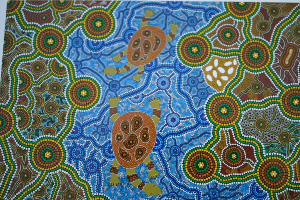 Aboriginer kunst reisetips australia