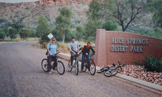 Sykkeltur i Alice Springs reisetips australia