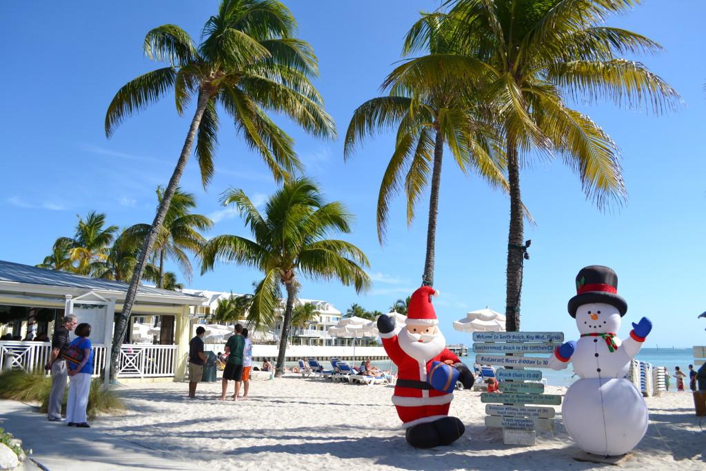 Reisetips for familier, barn og voksne - Jul i Florida USA