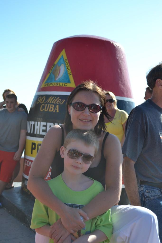 Reisetips for familier, barn og voksne - Lengre sør enn Key West kommer duikke i USA