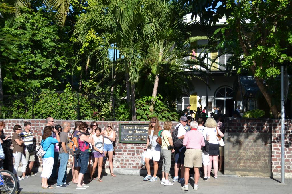 Reisetips for familier, barn og voksne - Home of Hemingway, Key West. Florida USA