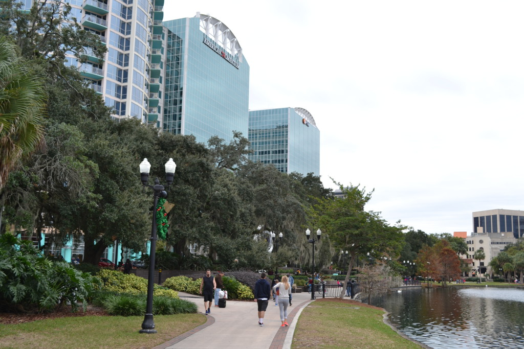 Reisetips for familier, barn og voksne - Downtown Orlando Florida USA