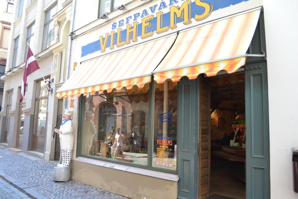 Pannekaker til store og små er populært i Riga