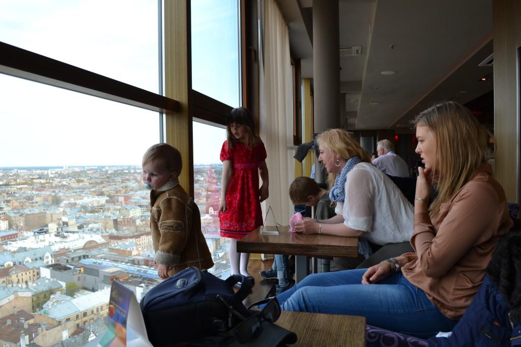 Sky Bar Hotel Latvia Riga passer for enslige, familier og venner på tur