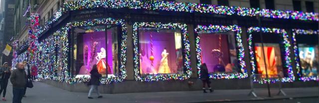 Juleferie og nyttårsfeiring i New York Manhattan USA