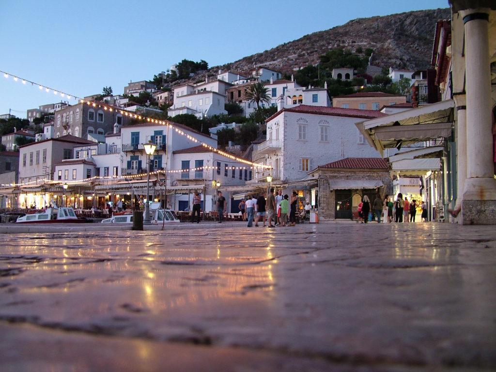 Reisetips Øyhopping Hellas Hydra familieferie barnevennlig