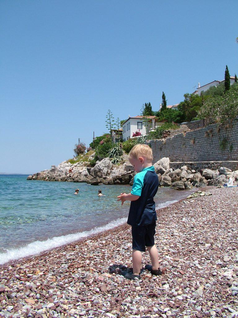Reisetips Øyhopping Hellas Hydra barnevennlig