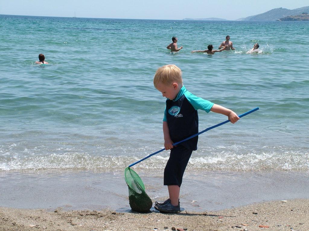 Reisetips, Hellas, Øyhopping, Poros, barnevennlig