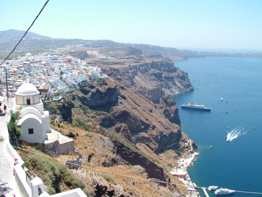 Hellas, Santorini, familie, barnevennlig, øyhopping