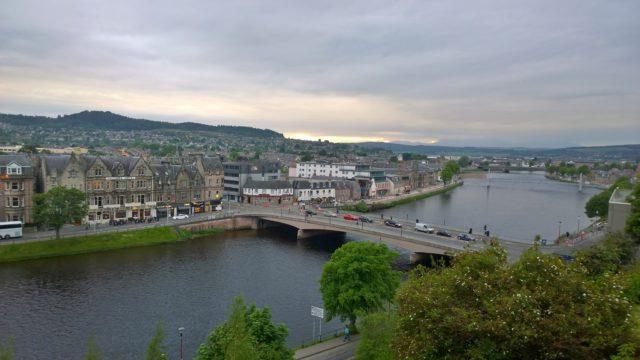 Reisetips familier barn Skottland Inverness helgetur