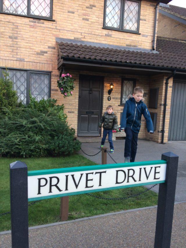 Harry Potter world i London England UK